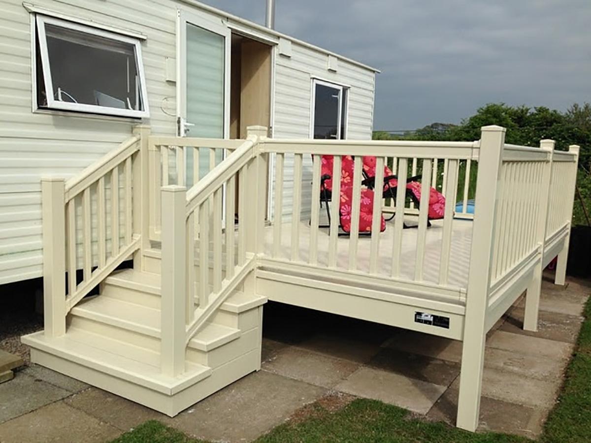 Caravan & Lodge Garden Decking Installer in Leigh ...